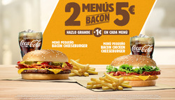 Ofertas de Burger King  en el folleto de Ferrol