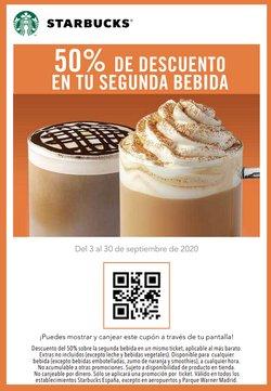 Ofertas de Restauración en el catálogo de Starbucks en Camargo ( 9 días más )