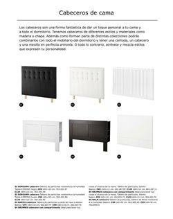 Ofertas de Cabecero  en el folleto de IKEA en Madrid