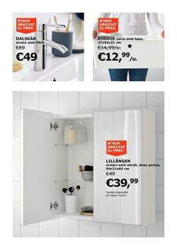 Ofertas de Fontanería  en el folleto de IKEA en Barcelona