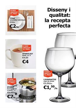 Ofertas de Vajilla  en el folleto de IKEA en Barcelona