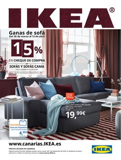 Ofertas de Hogar y Muebles en el catálogo de IKEA en Arona ( 20 días más )