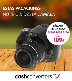 Ofertas de Cámara réflex  en el folleto de Cash Converters en Córdoba