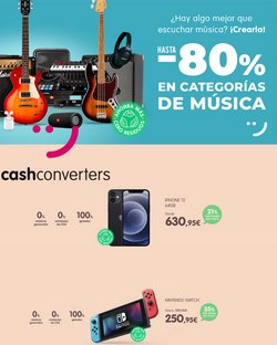 Ofertas de Cash Converters en el catálogo de Cash Converters ( 7 días más)
