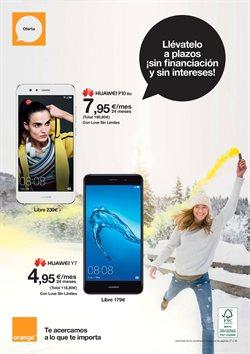 Ofertas de Smartphones Huawei  en el folleto de Orange en Alcalá de Henares