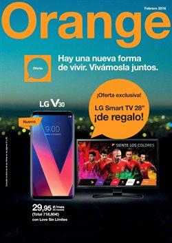Ofertas de Informática y electrónica  en el folleto de Orange en Palamos