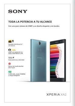 Ofertas de Smartphones Sony  en el folleto de Orange en Alcalá de Henares
