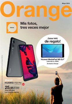 Ofertas de Orange  en el folleto de Madrid