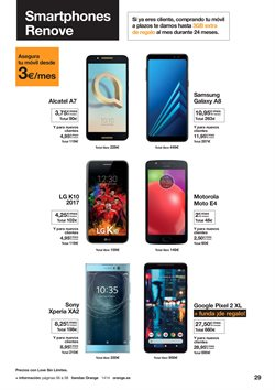 Ofertas de Motorola  en el folleto de Orange en Zaragoza