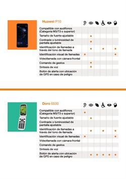 Ofertas de Smartphones Huawei  en el folleto de Orange en Madrid