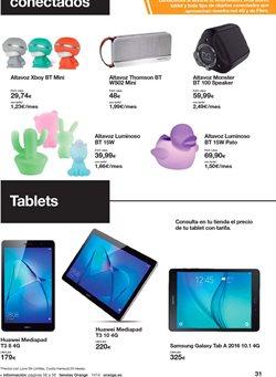 Ofertas de Tablet Samsung  en el folleto de Orange en Vecindario