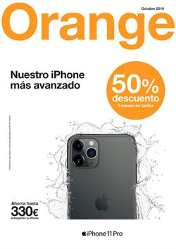 Ofertas de Orange  en el folleto de Irún