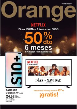 Ofertas de Orange  en el folleto de Parla