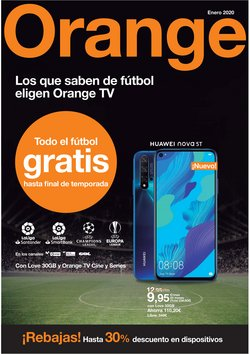 Ofertas de Orange  en el folleto de Miranda de Ebro