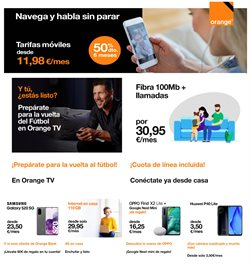 Catálogo Orange en Zaragoza ( 25 días más )