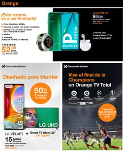 Ofertas de Lencería en Orange