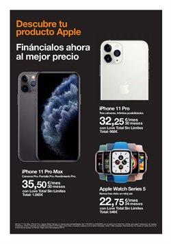 Ofertas de Apple Watch en Orange