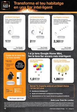 Ofertas de Google Home en Orange