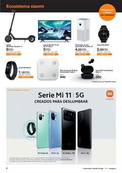 Ofertas de Xiaomi en el catálogo de Orange ( 19 días más)