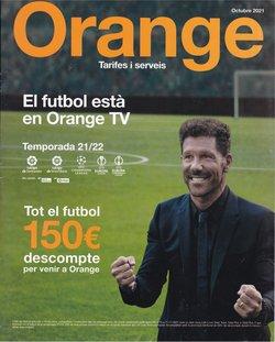Ofertas de Orange en el catálogo de Orange ( 9 días más)