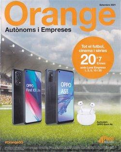 Ofertas de Orange en el catálogo de Orange ( Publicado ayer)