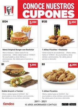 Catálogo KFC ( Más de un mes)