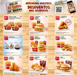 Ofertas de KFC  en el folleto de Madrid