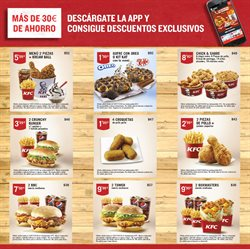 Ofertas de KFC  en el folleto de Madrid