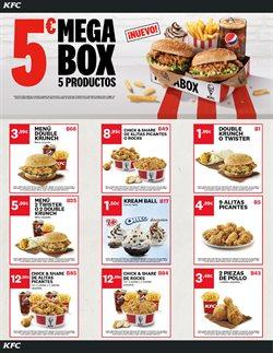 Ofertas de Restauración  en el folleto de KFC en Benidorm
