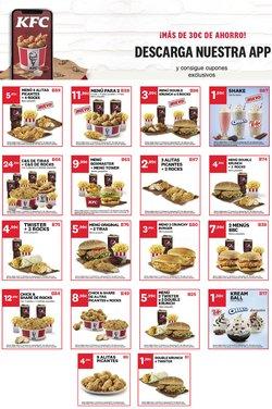 Ofertas de KFC  en el folleto de Mataró