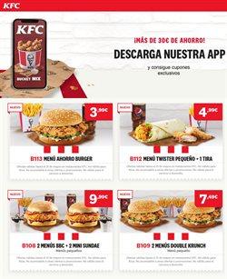 Ofertas de Restauración en el catálogo de KFC en Alboraya ( Caduca hoy )