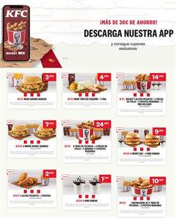 Ofertas de Restauración en el catálogo de KFC en Parla ( 3 días publicado )