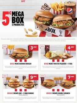 Ofertas de Restauración en el catálogo de KFC en Vilanova i la Geltru ( 24 días más )