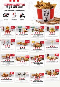 Catálogo KFC en Málaga ( Publicado ayer )