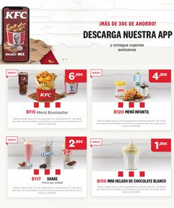 Ofertas de Restauración en el catálogo de KFC en Mataró ( 4 días más )