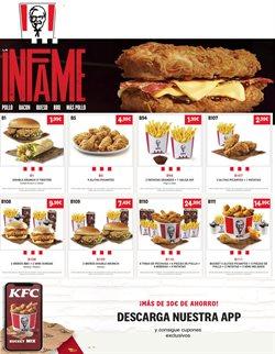 Ofertas de Patatas en KFC
