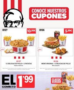 Ofertas de máscaras en el catálogo de KFC ( 4 días más)
