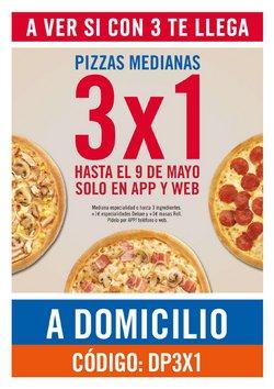 Ofertas de Restauración en el catálogo de Domino's Pizza ( 2 días más)