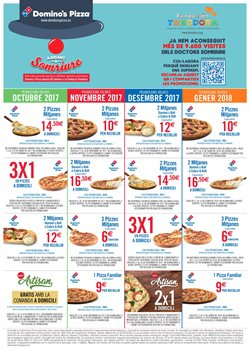 Ofertas de Domino's Pizza  en el folleto de Barcelona