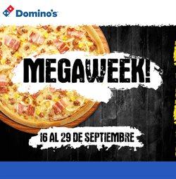 Ofertas de Restauración  en el folleto de Domino's Pizza en Premià de Mar