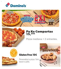 Ofertas de Domino's Pizza  en el folleto de Alaquàs