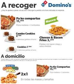 Catálogo Domino's Pizza en Murcia ( Caduca hoy )