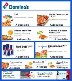 Catálogo Domino's Pizza en Torrelavega ( Publicado ayer )