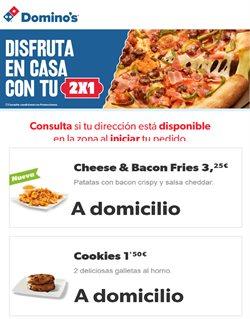 Ofertas de Restauración en el catálogo de Domino's Pizza en Móstoles ( Más de un mes )
