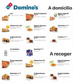 Ofertas de Restauración en el catálogo de Domino's Pizza en Abadiño ( 7 días más )