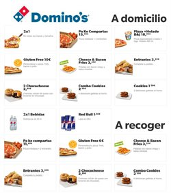 Ofertas de Restauración en el catálogo de Domino's Pizza en Dénia ( Caduca mañana )