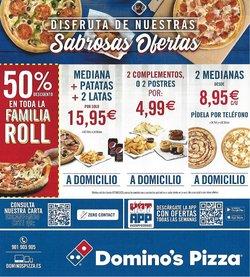 Catálogo Domino's Pizza ( 6 días más)