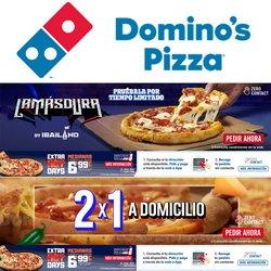 Ofertas de Restauración en el catálogo de Domino's Pizza ( 14 días más)