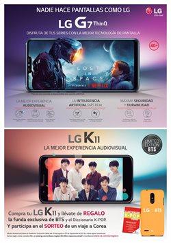 Ofertas de Smartphones LG  en el folleto de Ono en Dos Hermanas