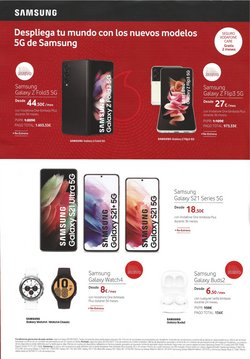 Ofertas de Samsung en el catálogo de Vodafone ( Caduca mañana)